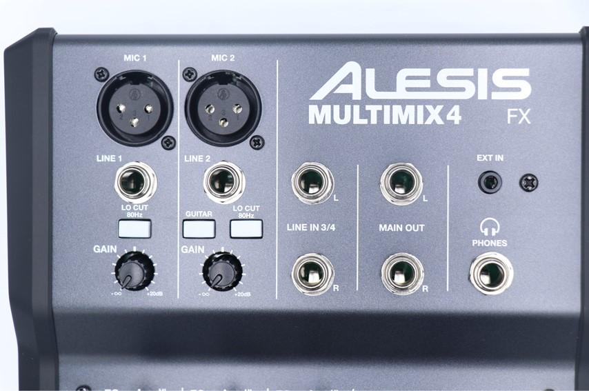 ALESIS MULTIMIX 4 USB FXの入力端子
