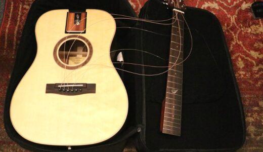 Journey Instruments OF422をレビュー。解体できて持ち運びが楽なトラベルギター