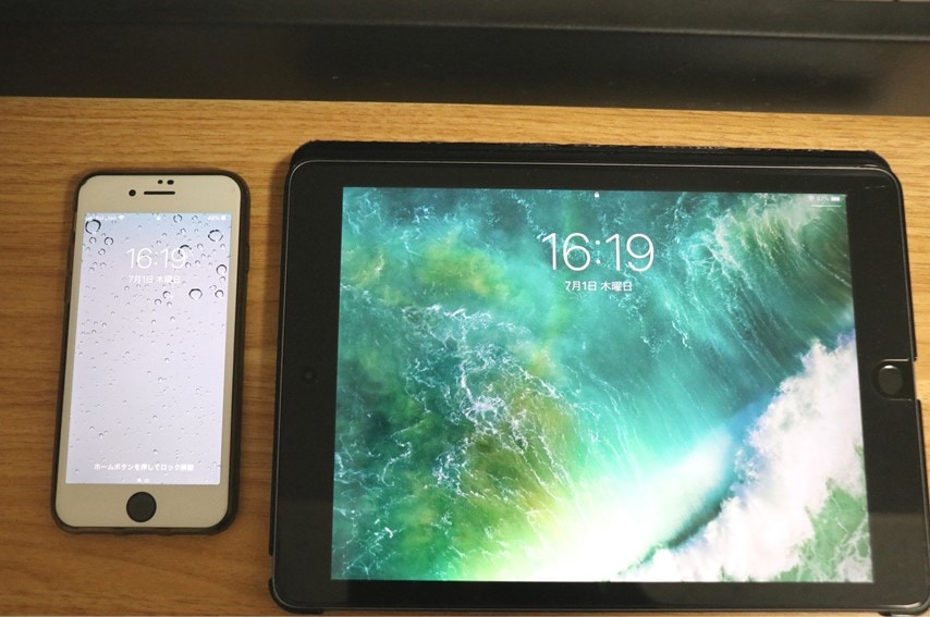 iPhone 7とiPad