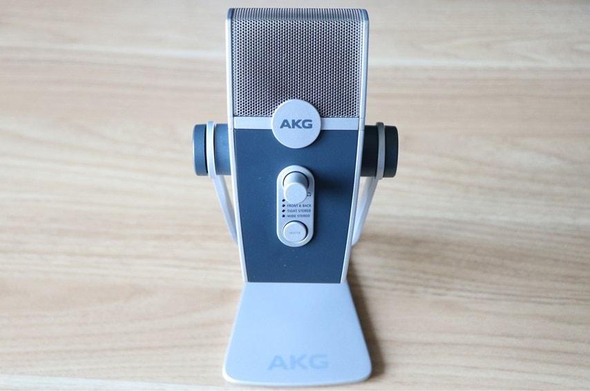 AKG Lyra-Y3を上から撮った画像