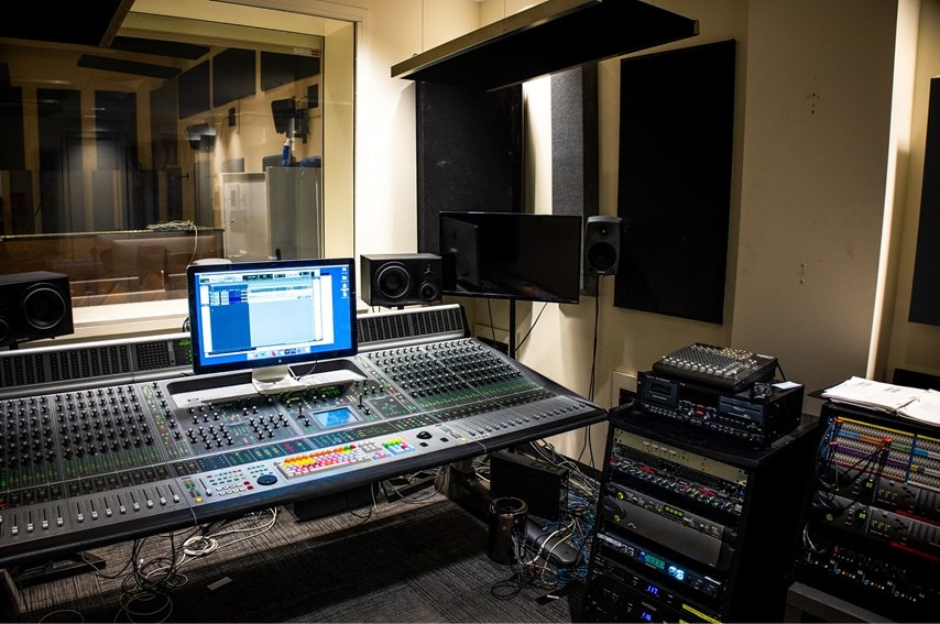 レコーディングスタジオ2